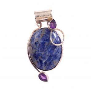Sodalite and Amethyst