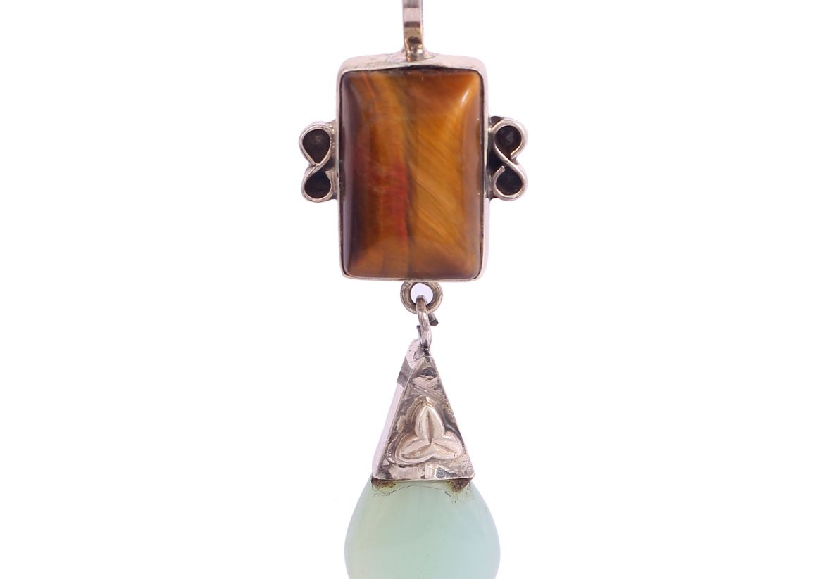 Tiger's Eye and Chalcedony