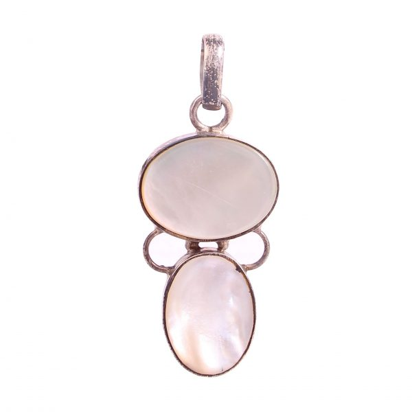 Mother Of Pearl Veneer Pendant