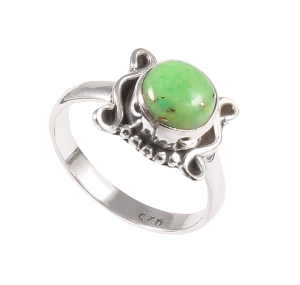 Green Copper Turquoise Gem