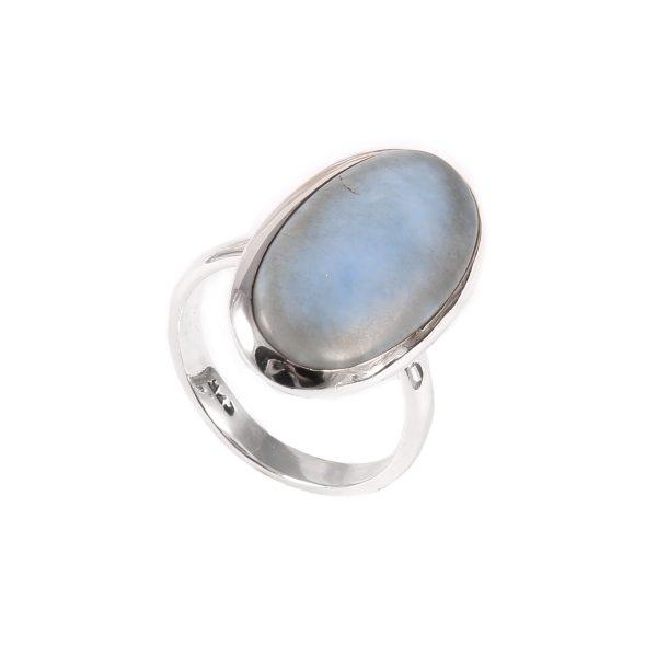 Large Blue Opal