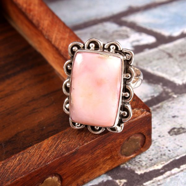 Pink Opal Gemstone
