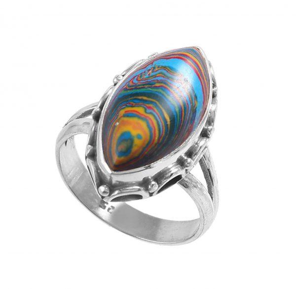 Rainbow Calsilica Gemstone