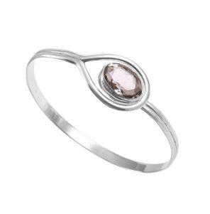 Pink Amethyst Gem Bracelet